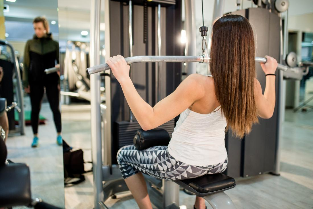 Latissimus dorsi pain from overworking in the gym