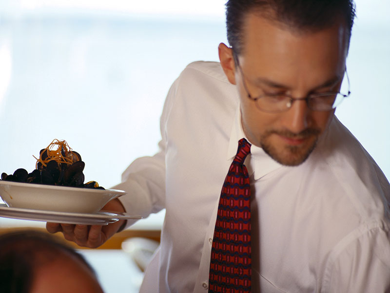 News Picture: Is Your Waiter Stoned? Study Finds Pot Use Highest Among Restaurant Workers