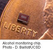 News Picture: Skin Sensor Might Someday Track Alcoholics' Booze Intake