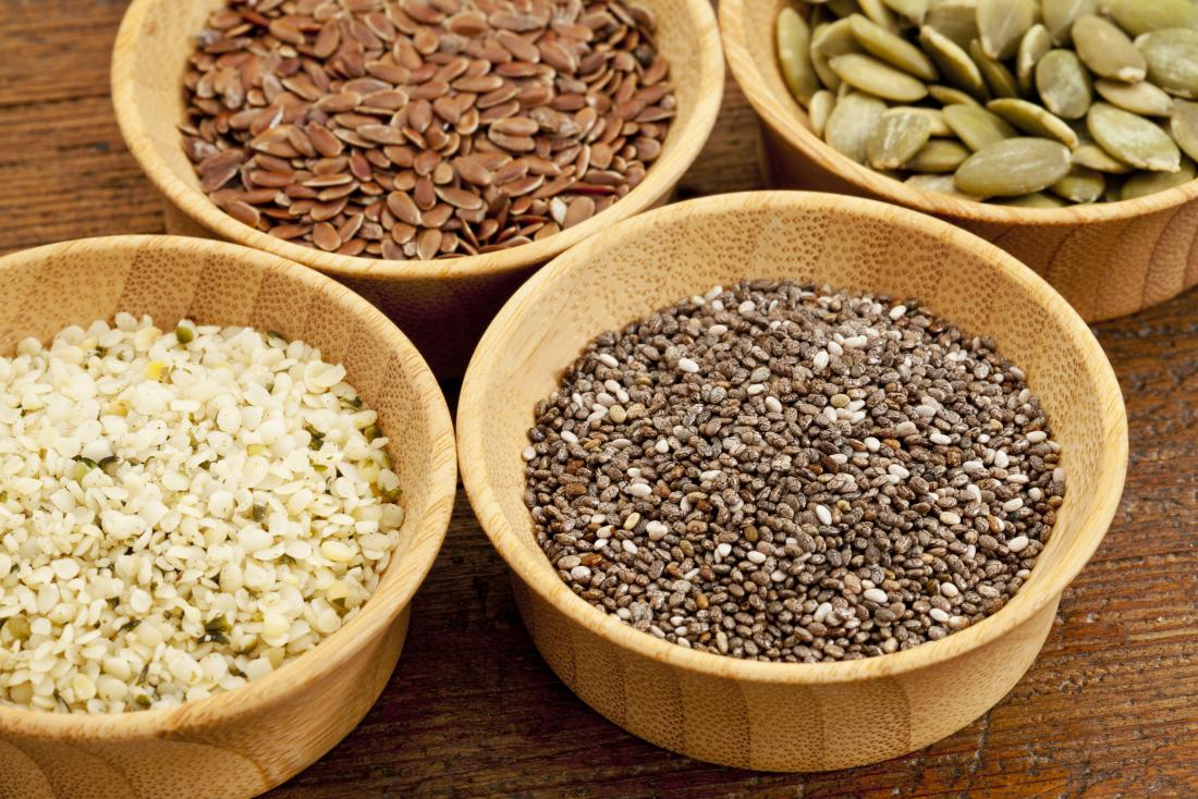 Seeds are a good plant based protein