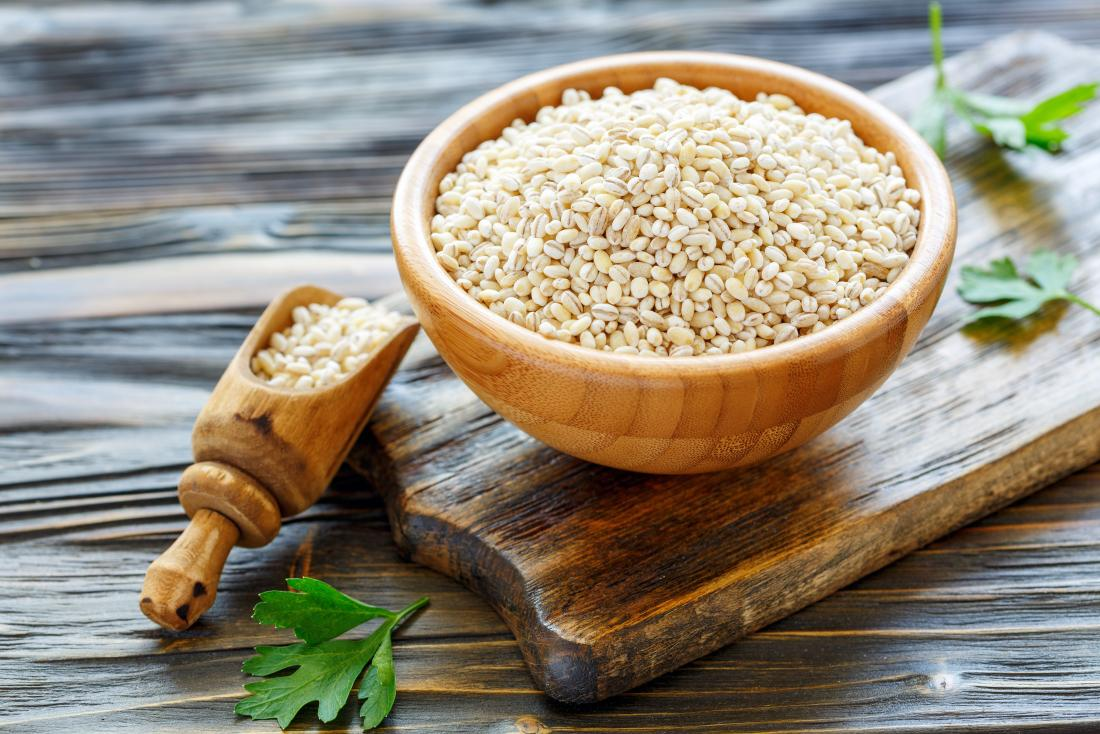 Barley water benefits include it being a great source of fiber