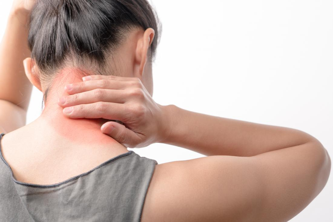 Painful neck which may be polymyalgia or fibromyalgia