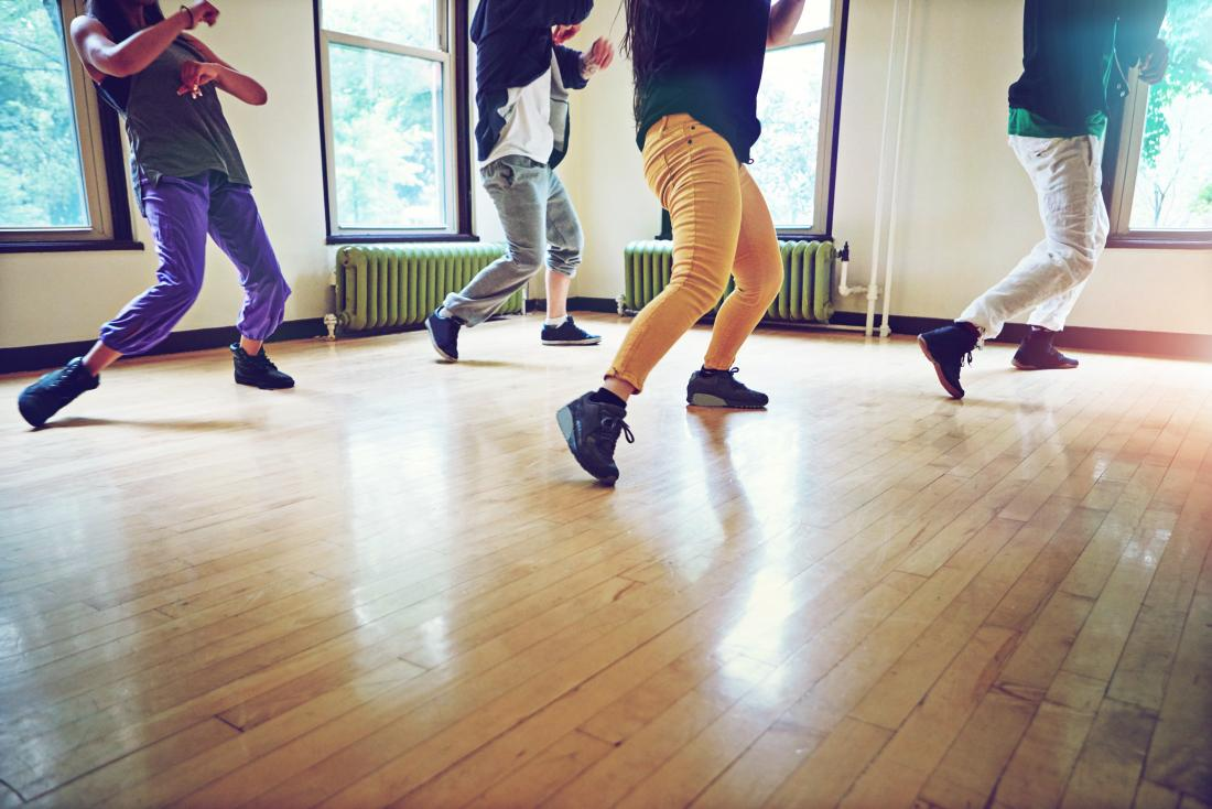 Dancers in a studio are most at risk of cuboid syndrome