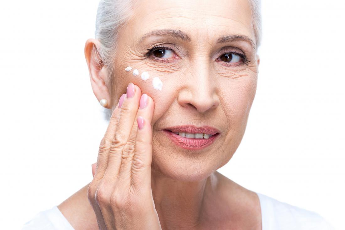 Creams and essential oils for wrinkles