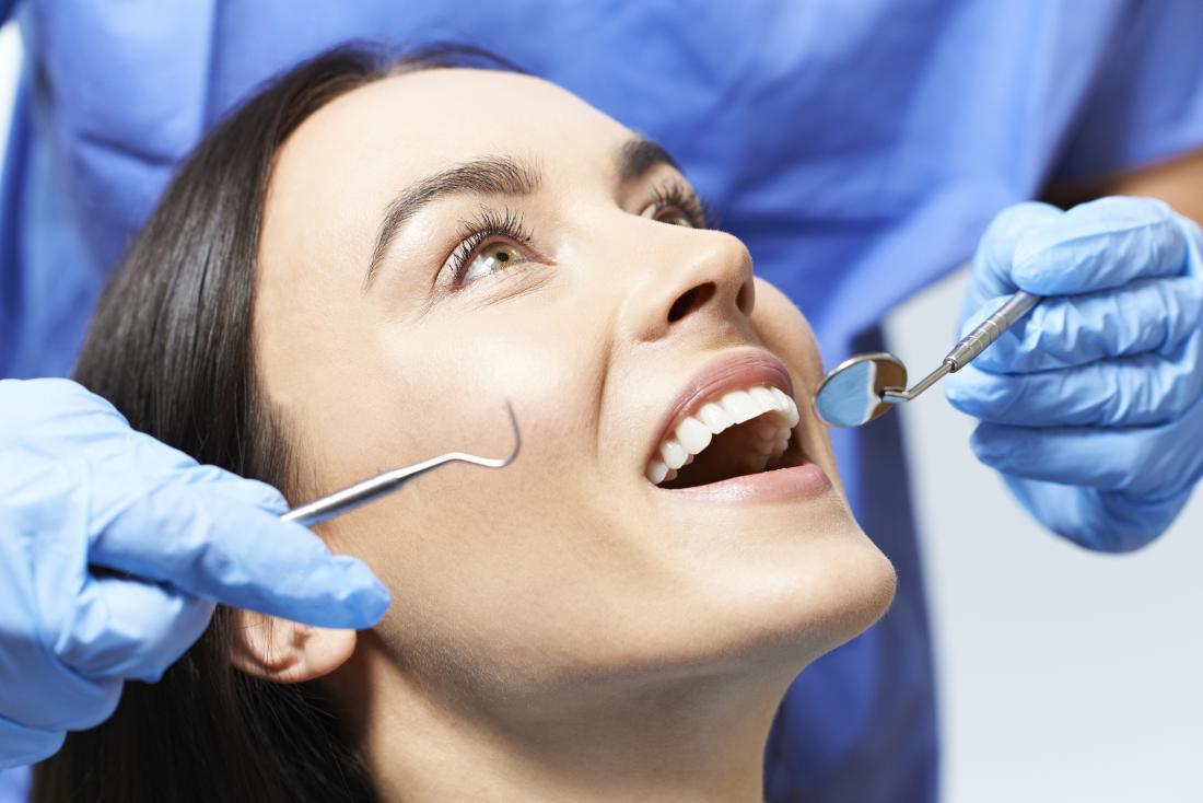 Diagnosing white spots on gums