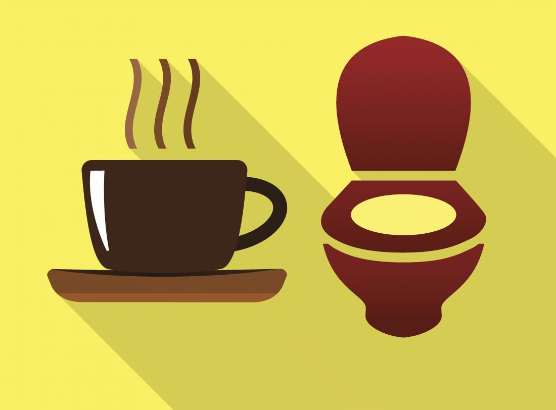 Too much coffee can make urine smell like coffee