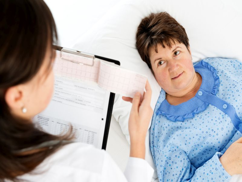 News Picture: Breast Cancer Prognosis May Be Worse If Diagnosis Follows 'Negative' Mammogram