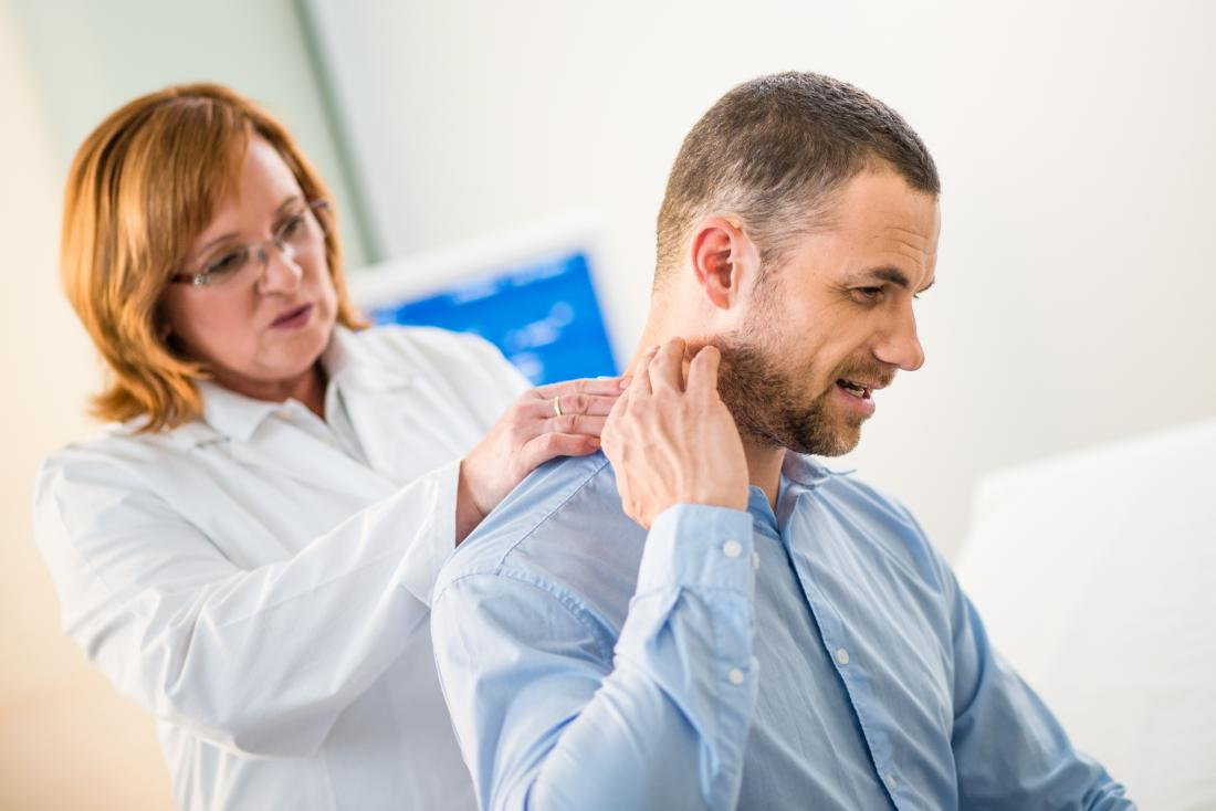 Analyzing a patient for black neck