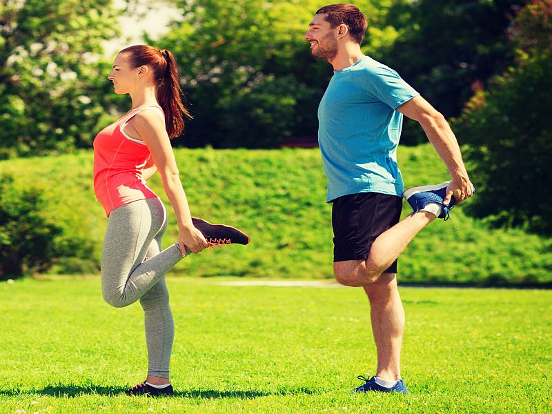 News Picture: Exercises for Chronic Health Conditions