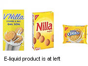 News Picture: FDA Cracks Down on Dangerous E-Cig Liquids That Resemble Cookies, Candy