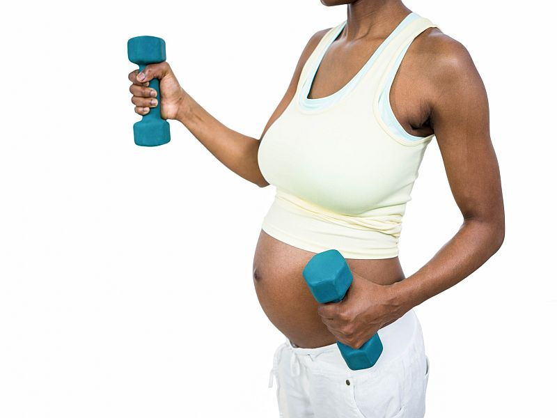 News Picture: Get Fit to Cut Your Diabetes Risk During Pregnancy