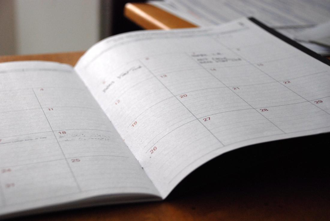photo of planner