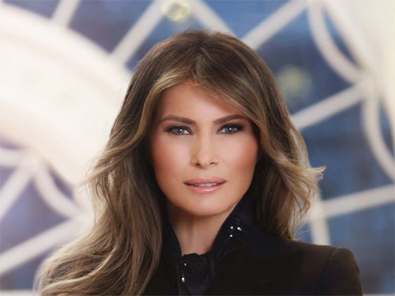 News Picture: Melania Trump Treated for Benign Kidney Condition