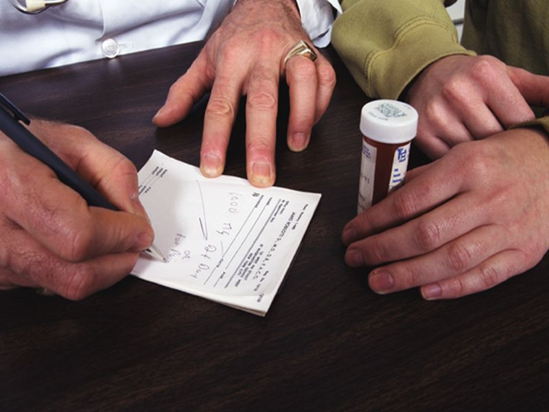 News Picture: Opioid Makers' Perks to Docs Tied to More Prescriptions