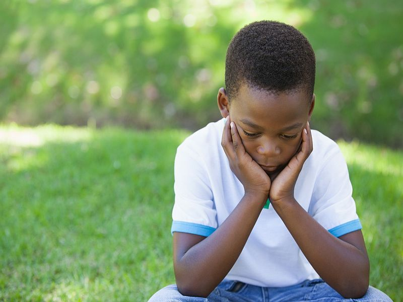 News Picture: Race May Play Role in Kids' Suicide Risk