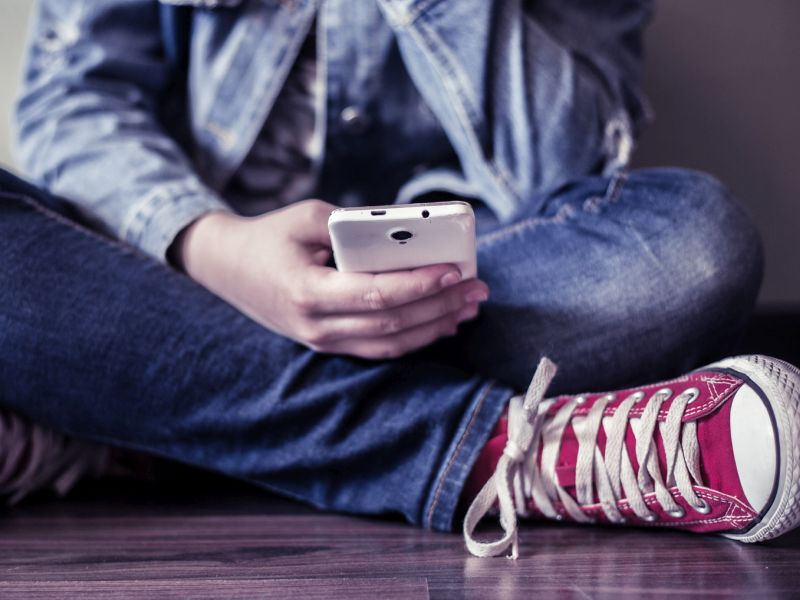News Picture: Teen Sexting Often Tied to Past Sexual Abuse