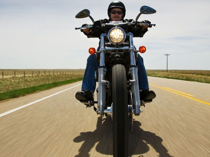 News Picture: U.S. Motorcycle Deaths Dropped 6 Percent Last Year