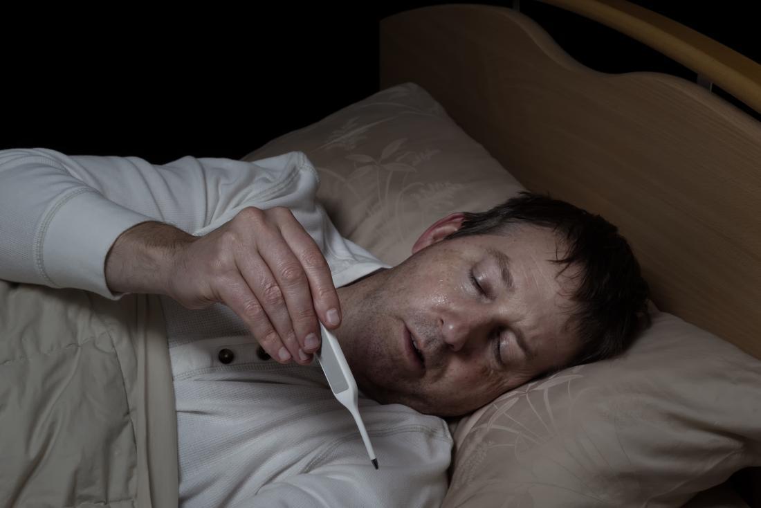 HIV symptoms in men can be flu and feverish