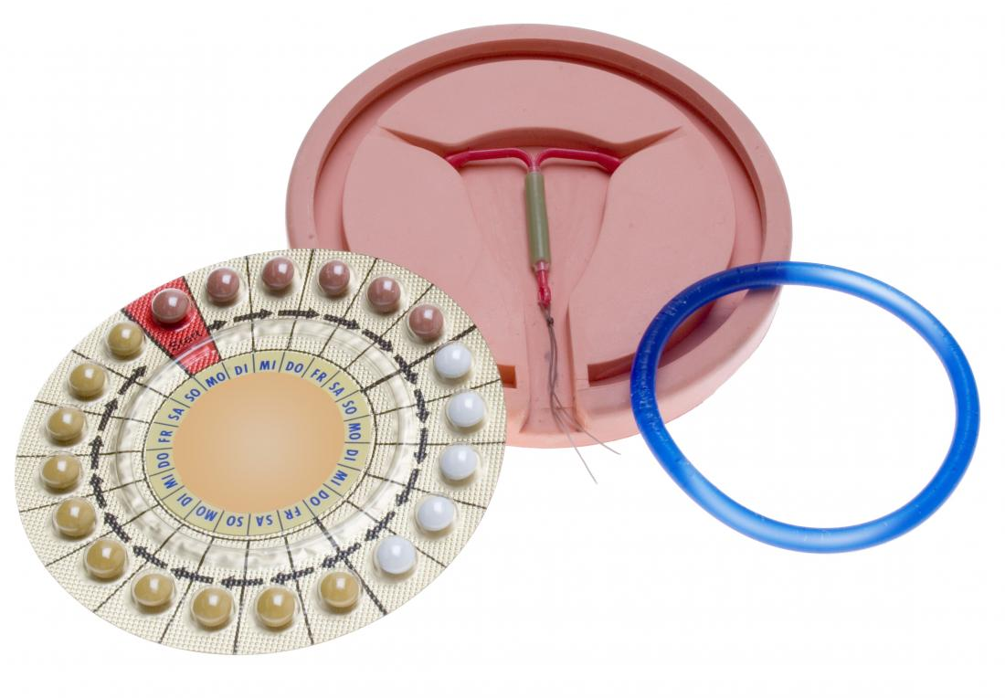 contraceptive pills IUD and vaginal ring