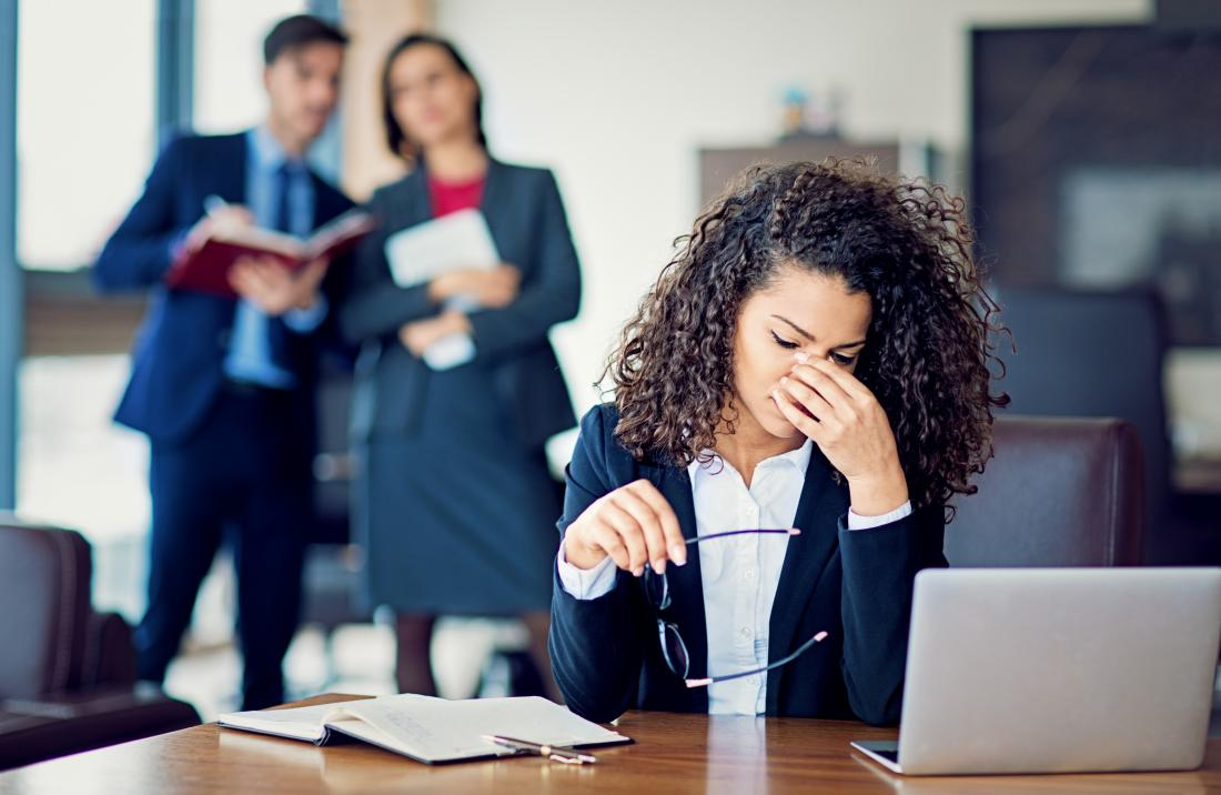 work stress can contribute to cold nose