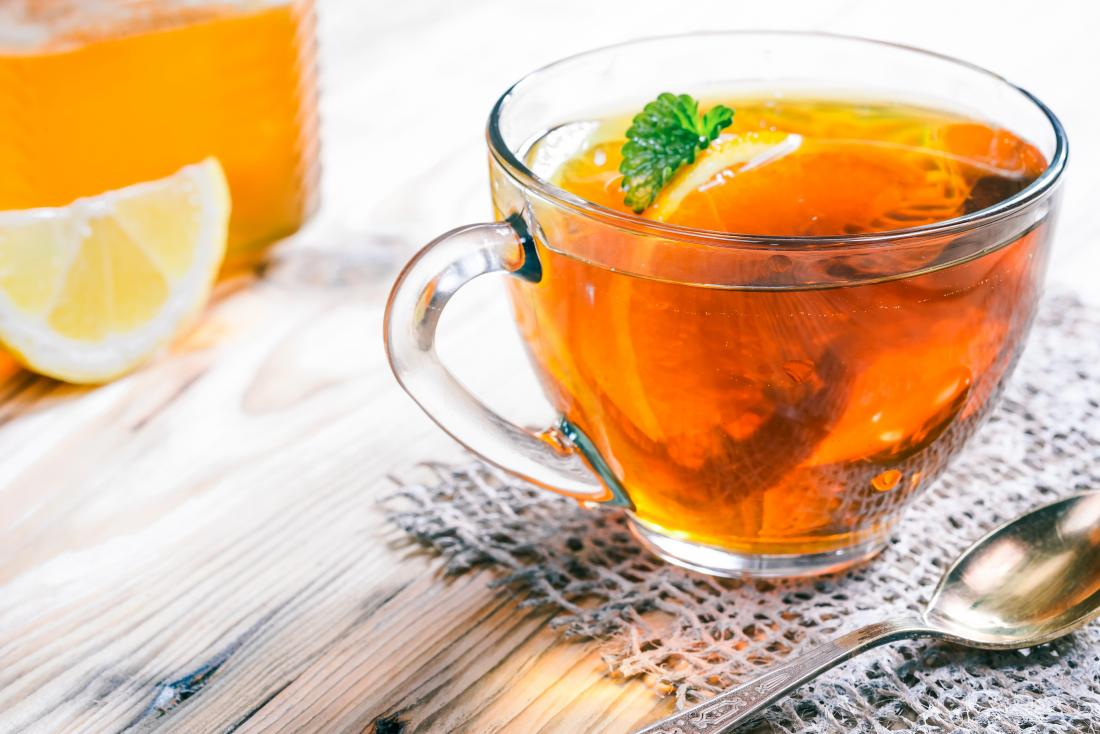 What to eat when you're sick herbal tea