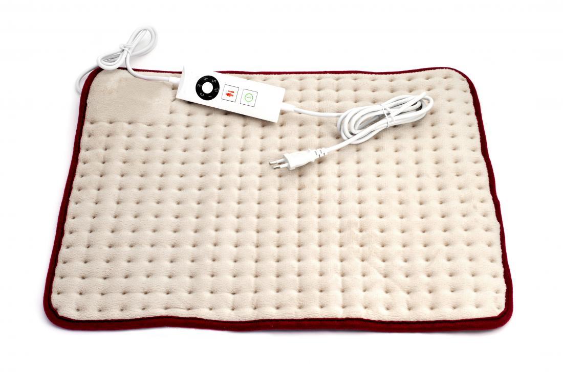 Heating pad or electric blanket.