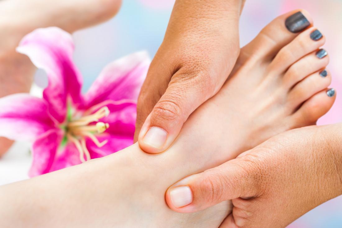 Foot massage - Foot spread