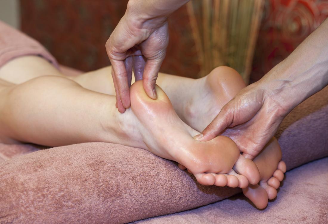 Foot massage - Heel squeeze