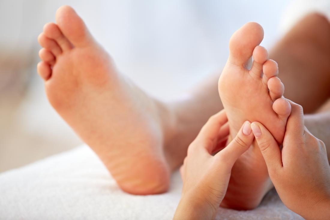 foot massage - Thumb work