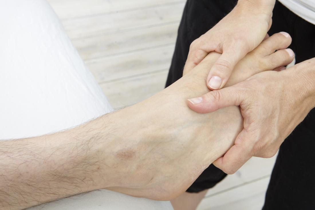 foot massage - Pressure points
