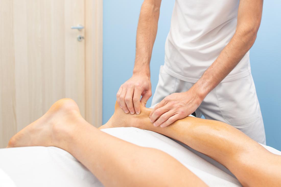 foot massage - Achilles massage
