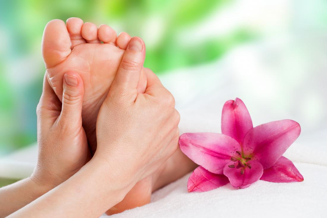 foot massage - Warmup twists