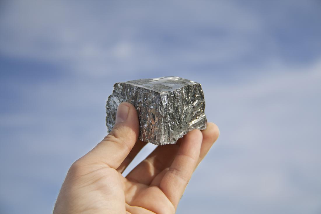 Block of zinc