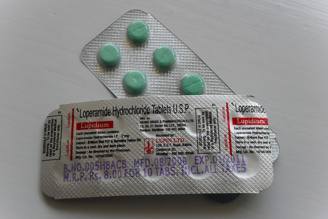 Loperamide tablets which can be use as an anti-diarrheal treatment for crohn's<!--mce:protected %0A--><br>Image credit: Kristoferb, 2010</br><!--mce:protected %0A-->