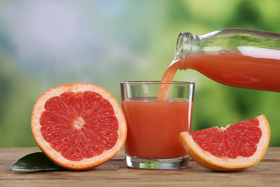 grapefruit and grapefruit juice