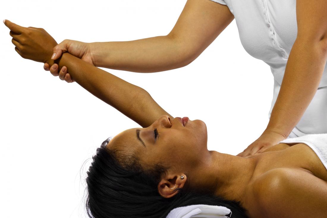 Deltoid pain stretch 3