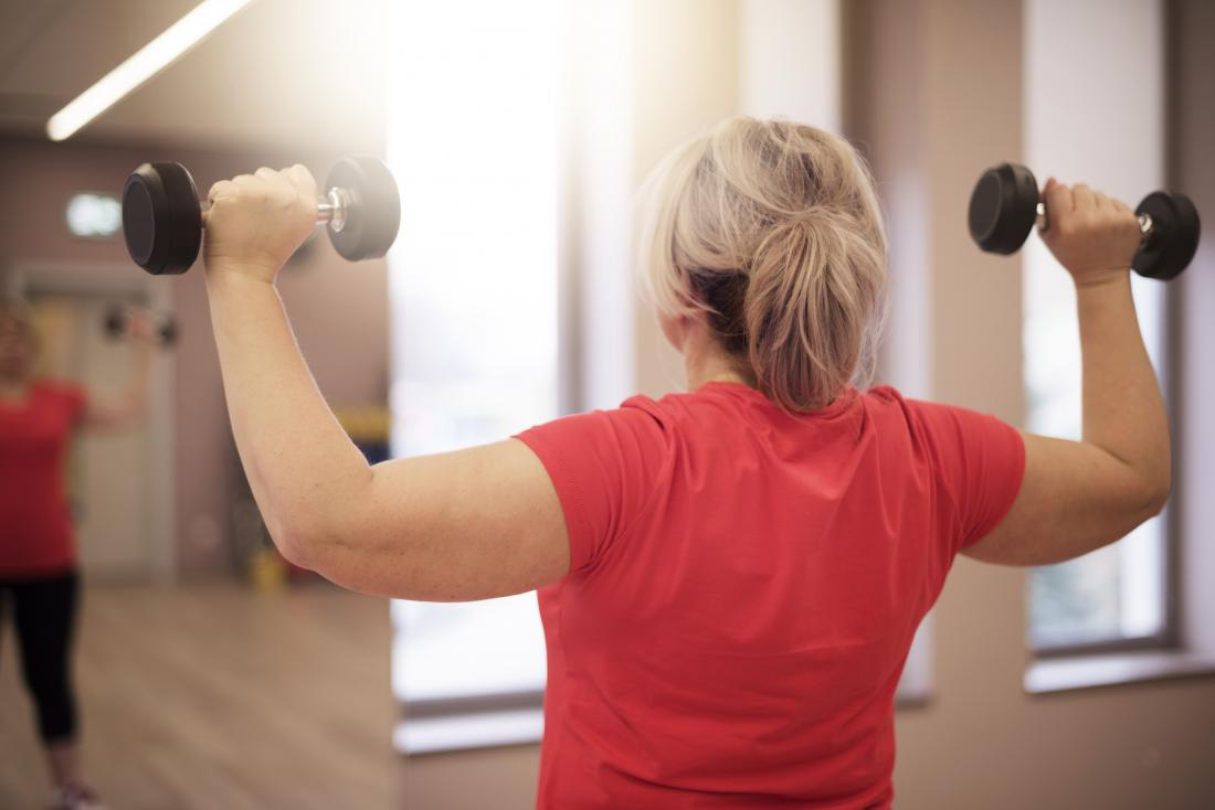 Regular exercise can help control blood sugar levels and relieve stress.