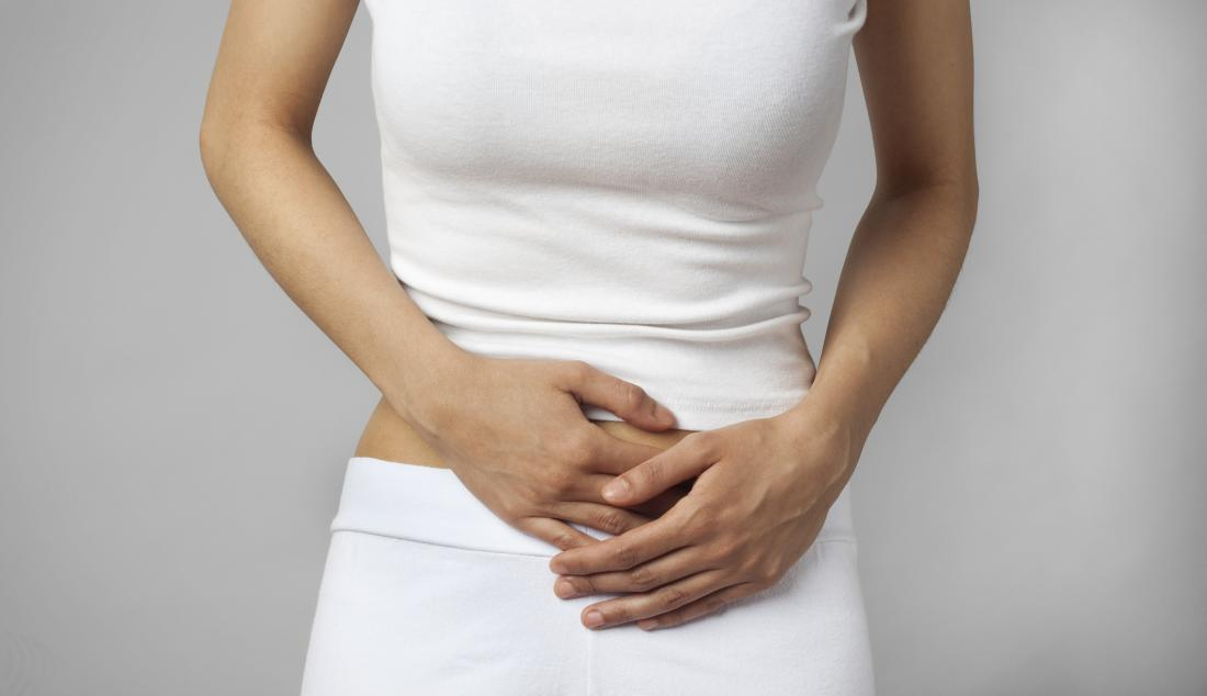 woman with pelvic pain