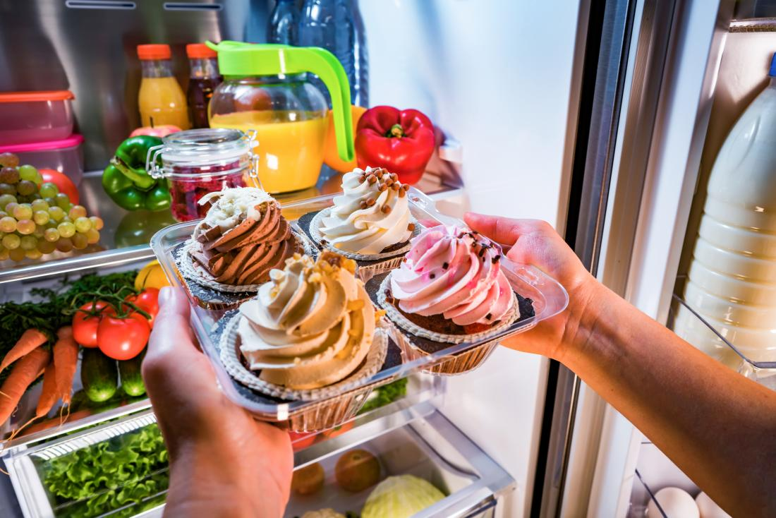 Food addiction may actually be an addiction to the behavior of eating.