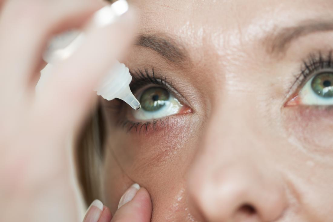 Drops for shingles in the eye