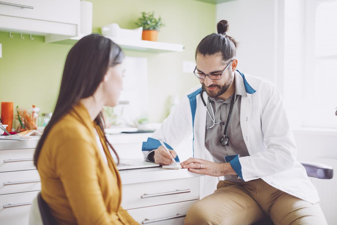 A person should see a doctor if bites last longer than a week, or show signs of infection.