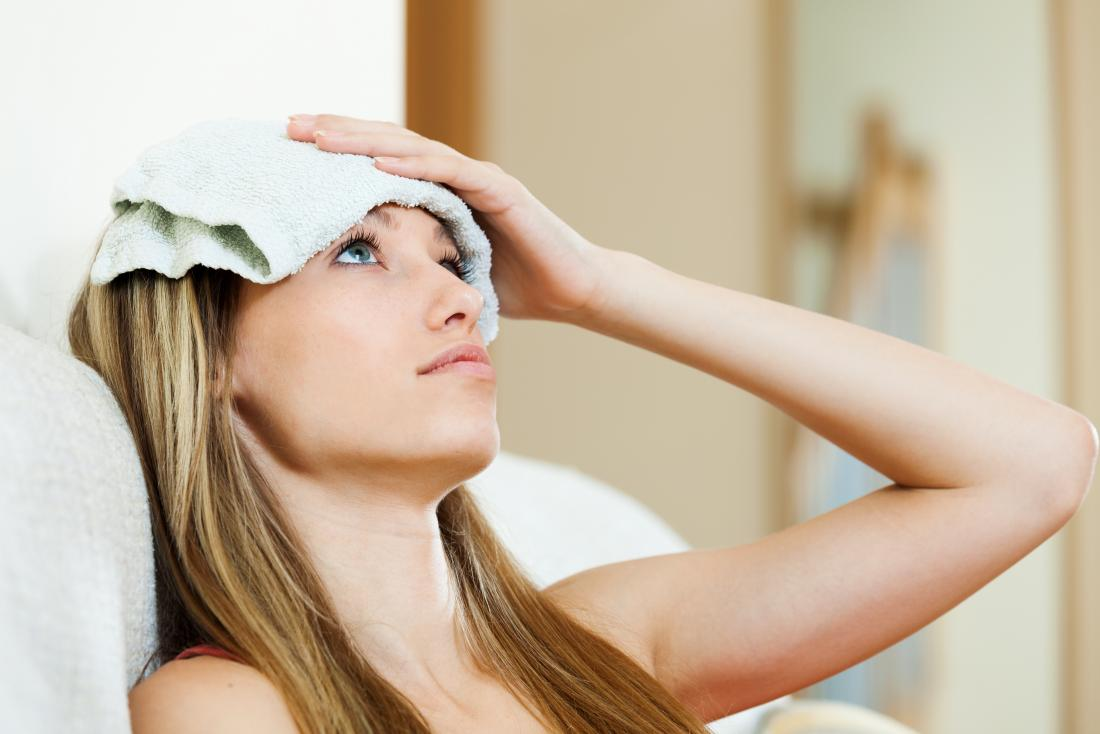 How to make a cold compress for headaches