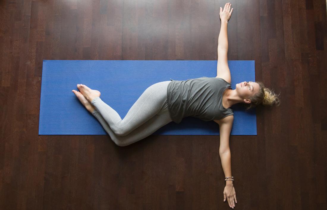 lower back rotational stretch
