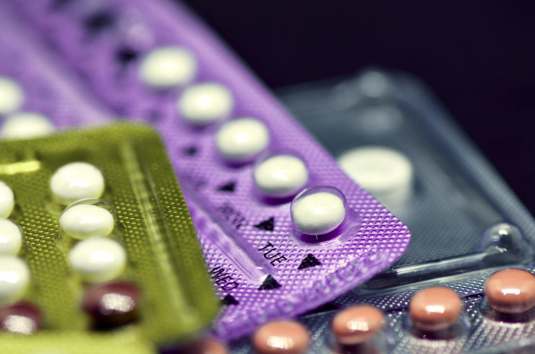 Birth control may help treat hair loss in women with PCOS.