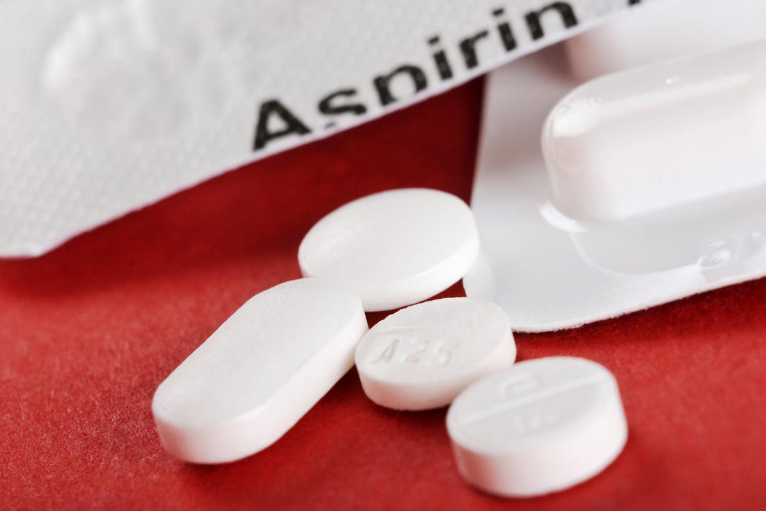 Aspirin ibuprofen tablets