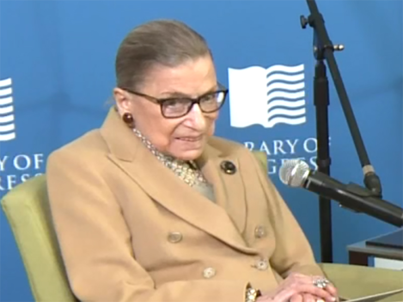 News Picture: Justice Ruth Bader Ginsburg Has Lung Cancer Surgery