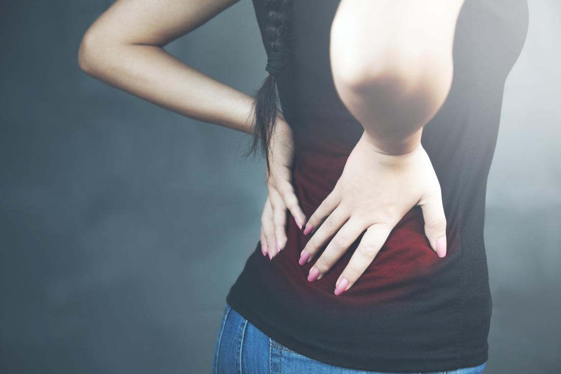 Low back pain woman