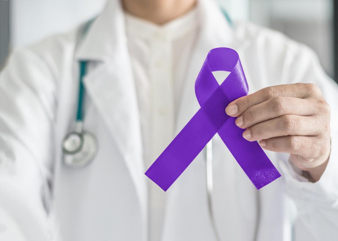 pancreatic cancer survival ribbon