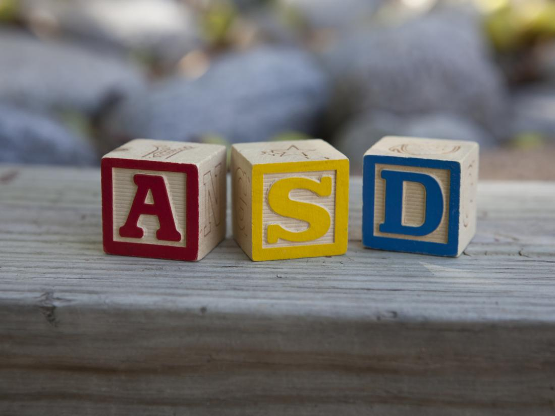 wooden blocks with the letters a, s, and d