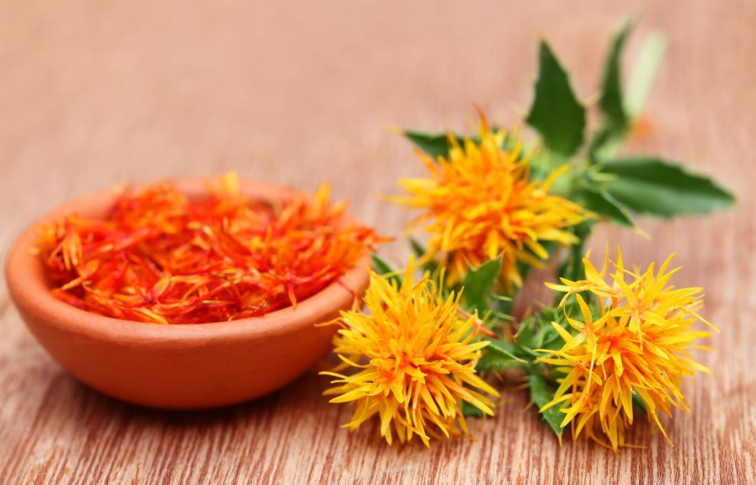Safflower seeds can create Safflower oil